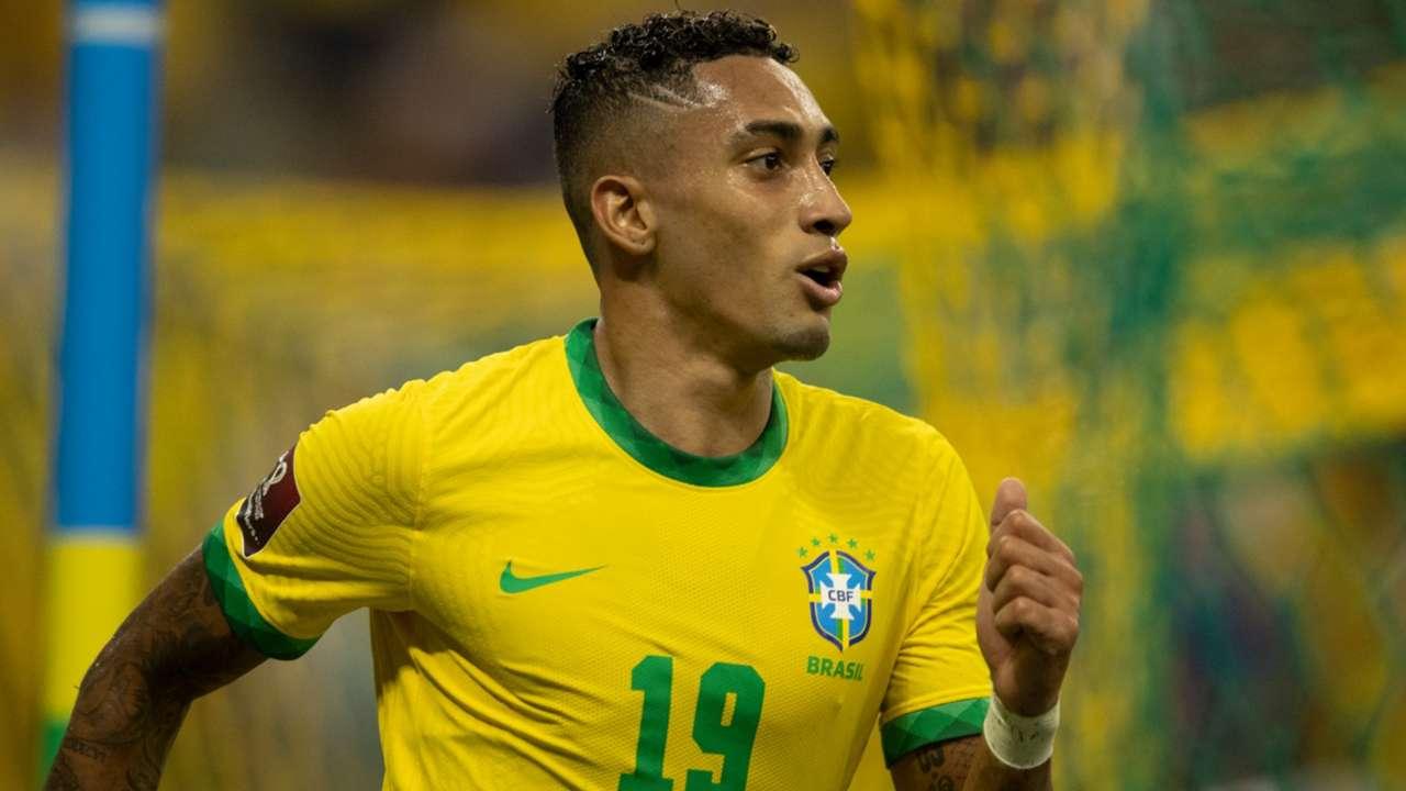 Raphinha Brasil Uruguai Eliminatórias 2022 14 10 2021