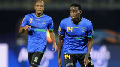 John Bocco of Tanzania during the Africa Cup of Nations 2019 Finals.