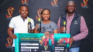 Guinness Brand in Kenya for Afcon.