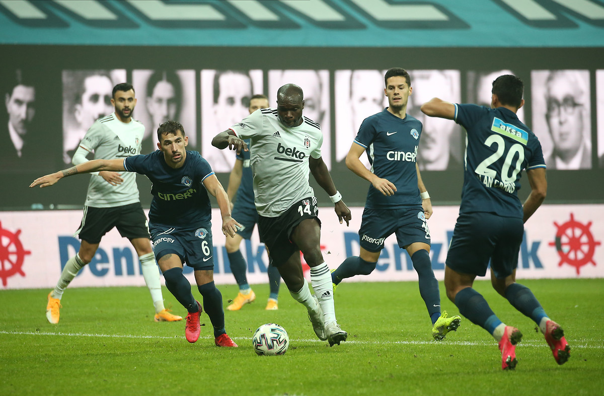 Aboubakar's brace and Bernard Mensah's assist inspire Besiktas to victory