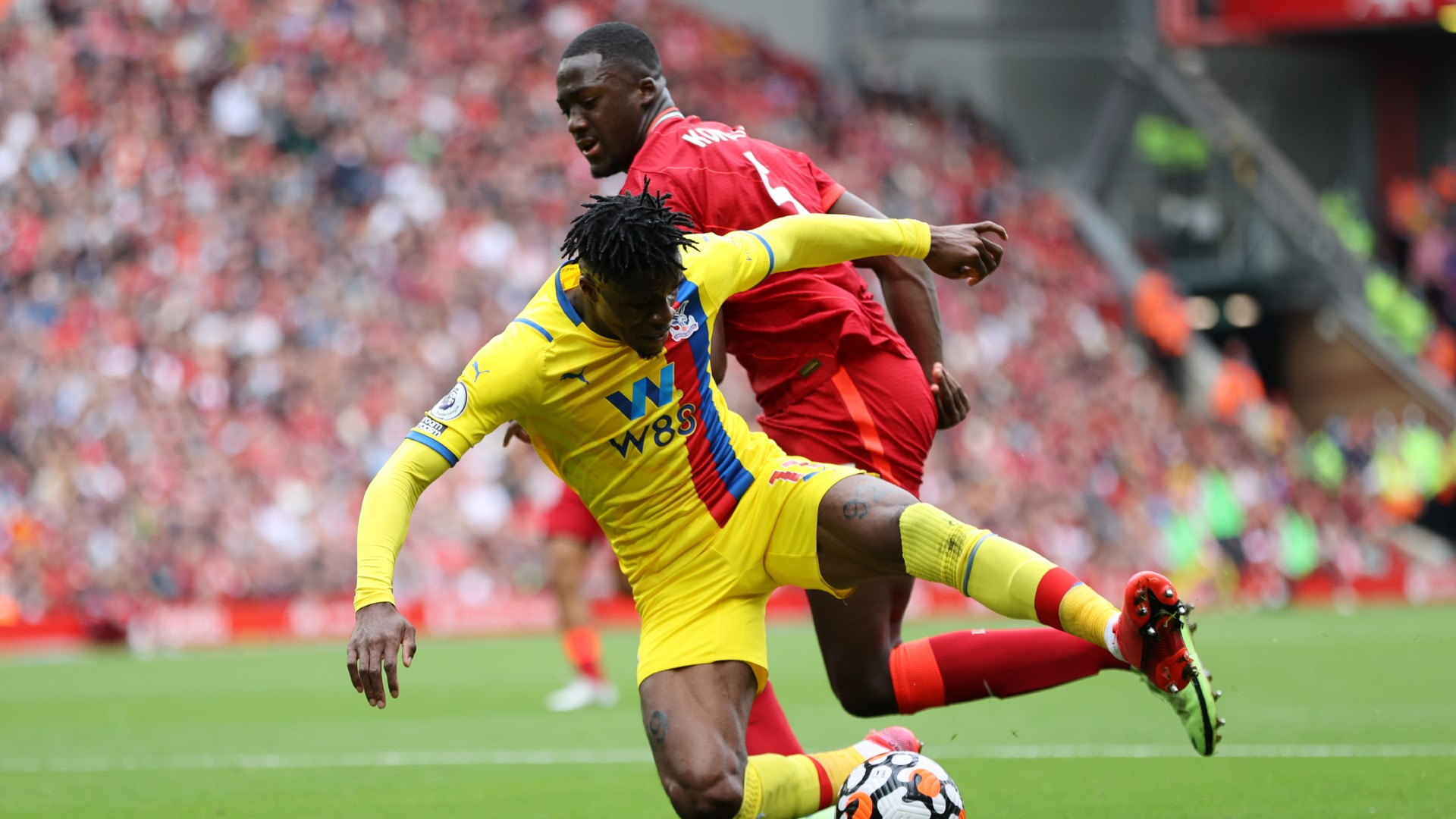 'He did really well against Zaha and Ayew' – Liverpool boss Klopp raves about Konate