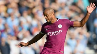 Vincent Kompany Manchester City Brighton Premier League