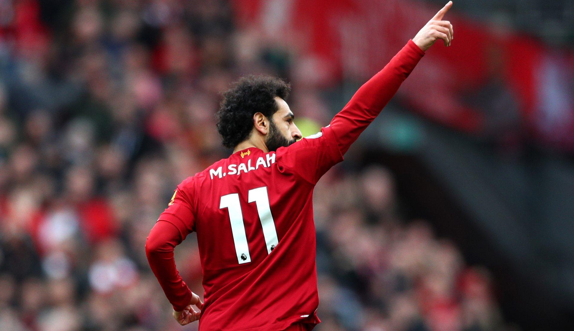 من المقاولون إلى ليفربول كم عدد أهداف محمد صلاح Goal Com