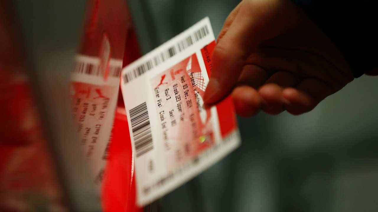 Arsenal ticket
