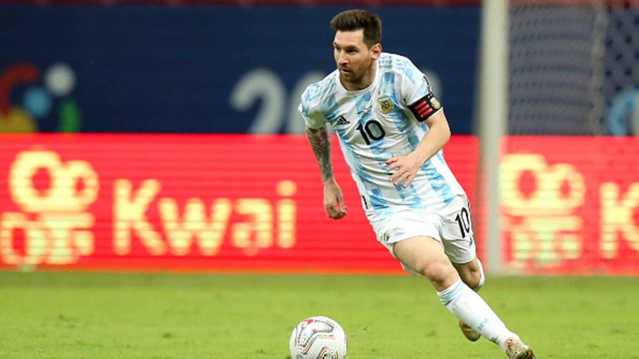 Lionel Messi, Argentina vs Paraguay, Copa America