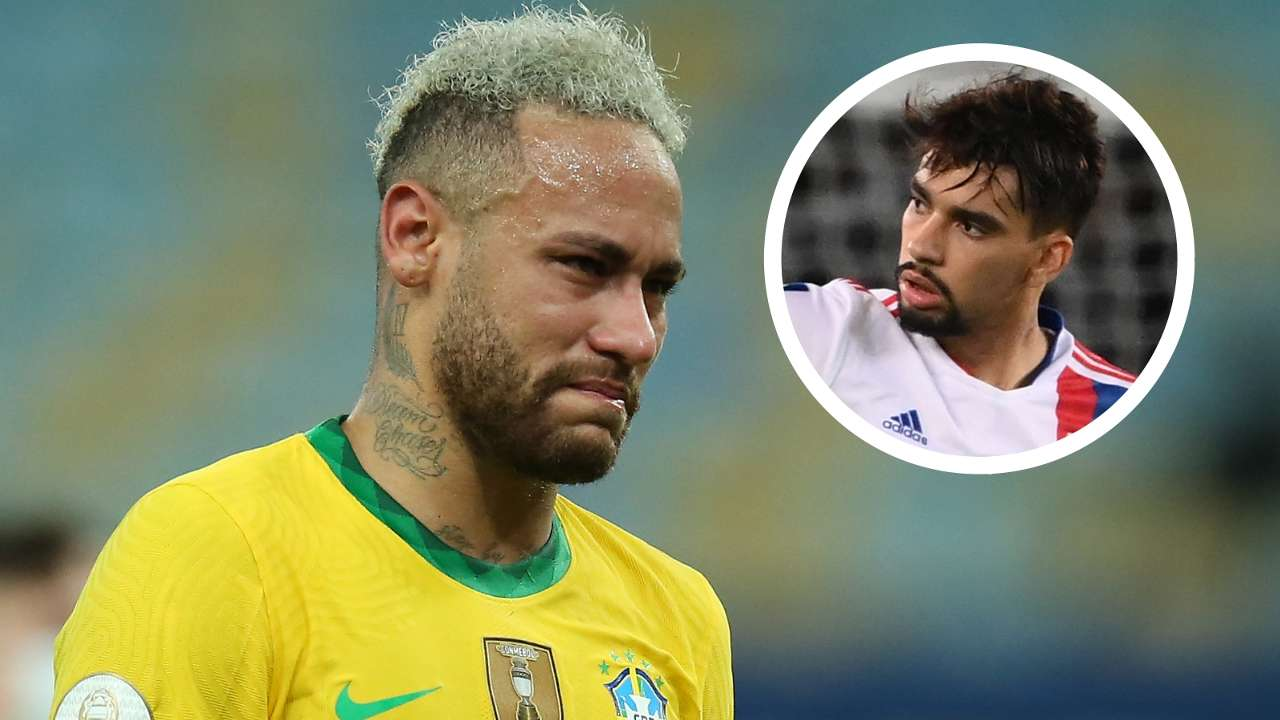 Neymar Lucas Paqueta