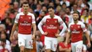 Granit Xhaka Mesut Ozil Arsenal 2018-19