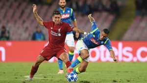 Roberto Firmino Liverpool Napoli 2018