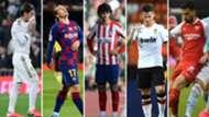 Ramos, Griezmann, Joao Félix, Gameiro y Suso, Madrid, Barcelona, Atlético, Valencia y Sevilla