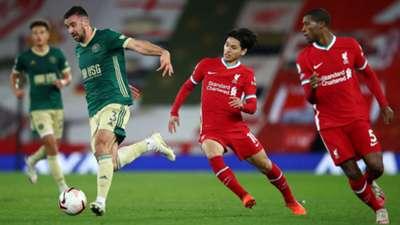 Takumi Minamino Liverpool 2020-10-24