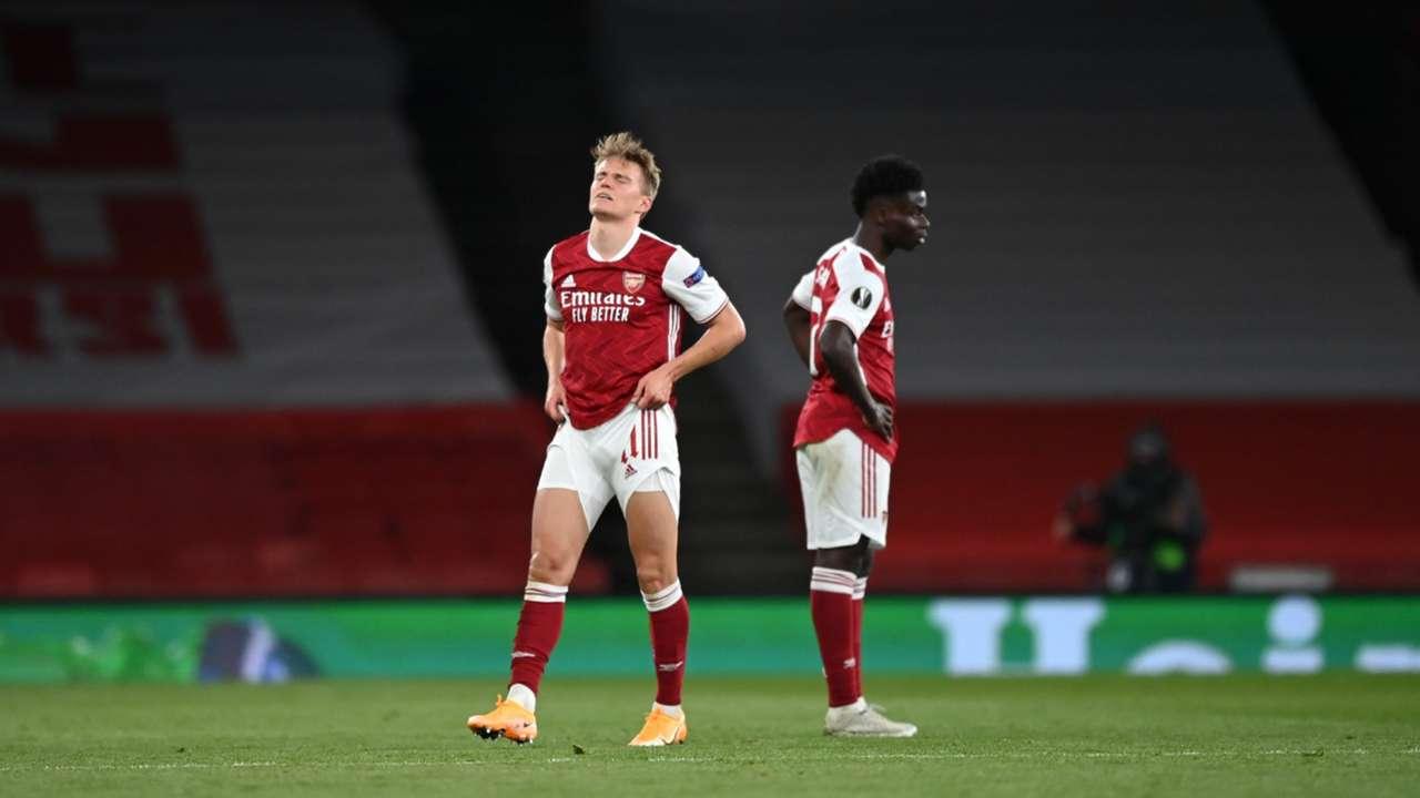 Arsenal Villarreal 2021 Odegaard