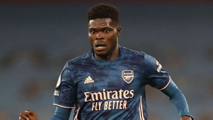 Thomas Partey Arsenal 2020-21