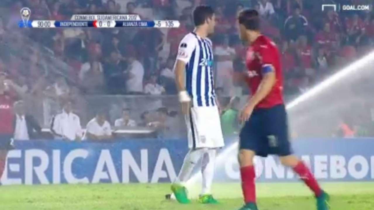 Rogue sprinklers Independiente