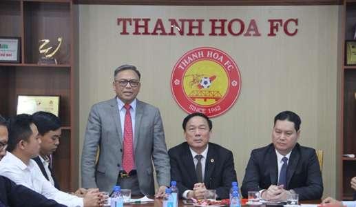 (V.League) CLB Thanh Hóa xáo trộn thượng tầng sau khi bầu Đệ rời đi