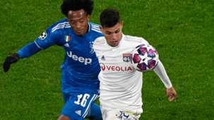Bruno Guimarães Cuadrado Lyon Juventus Champions League 26 02 2020