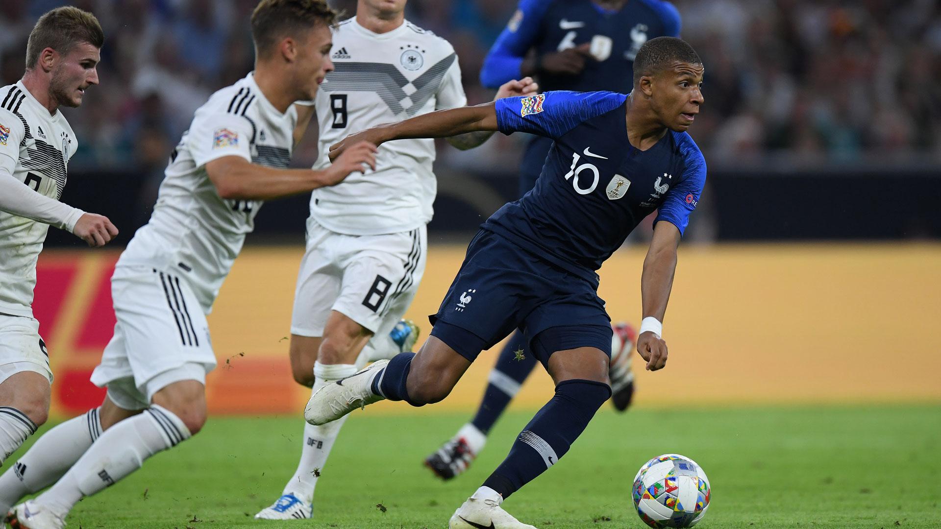 Spiel Frankreich Heute