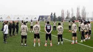 Minuto silencio Real Madrid Kobe Bryant