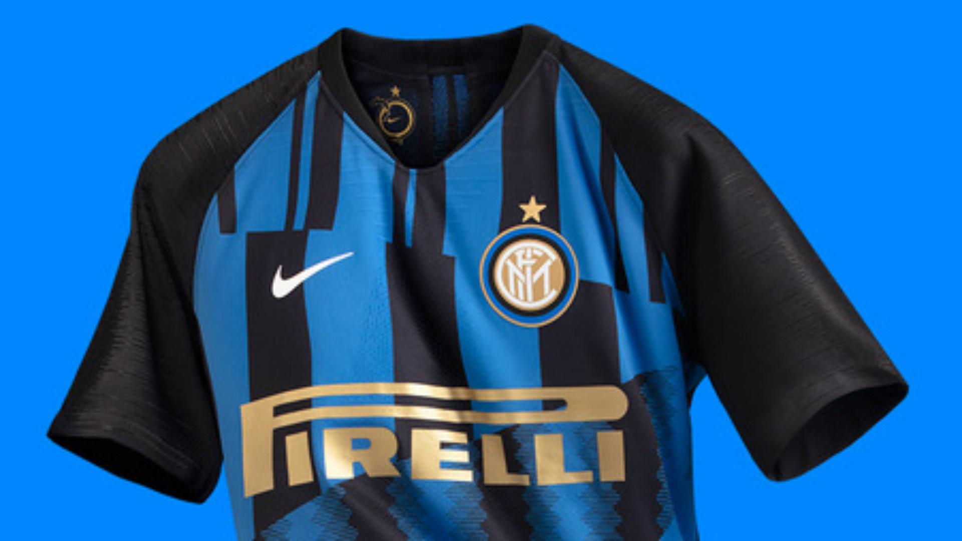 Maglia Inter 2018 2019, Nike celebra i 20 anni di partnership