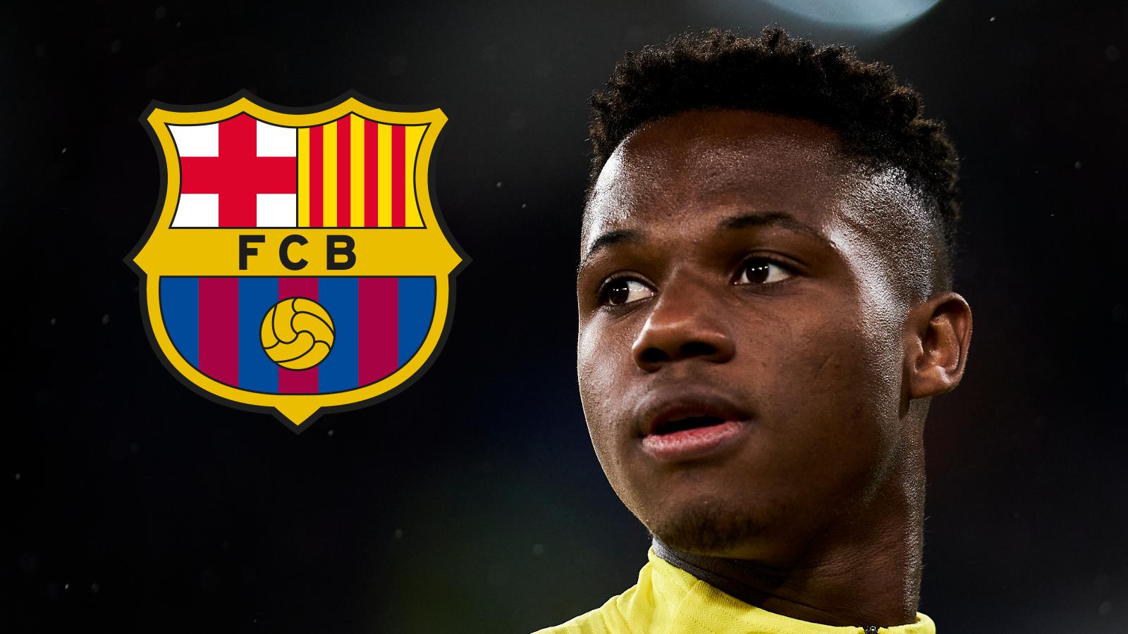 Le FC Barcelone blinde Ansu Fati avec une clause à 400 millions d'euros
