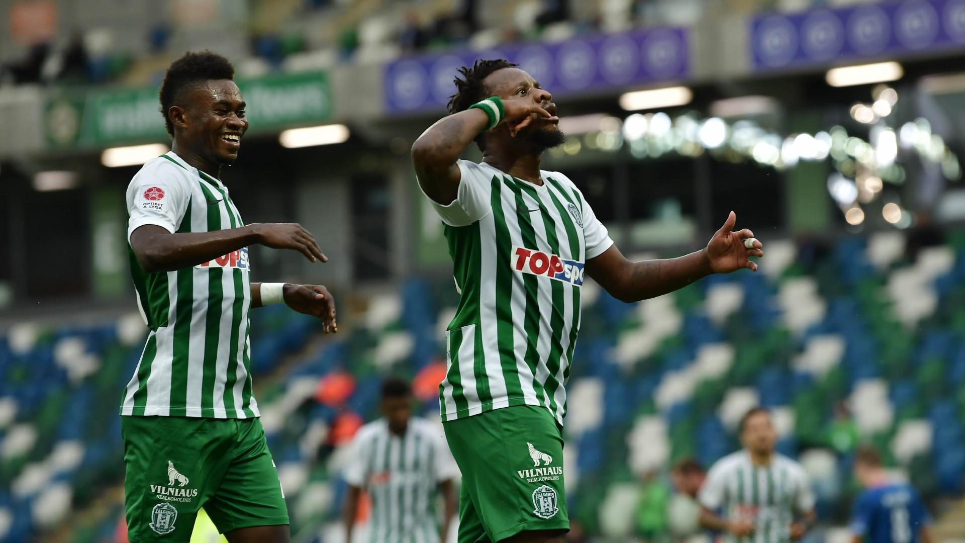 Europa League: Onazi's Zalgiris crash out as Diagne & Feghouli fire Galatasaray to next round