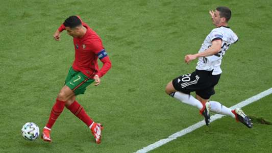 Watch: Cristiano Ronaldo sprint across the length of the pitch in 14.2 seconds!   Goal.com