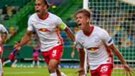 GERMANY ONLY: YUSSUF POULSEN DANI OLMO LEIPZIG CHAMPIONS LEAGUE 13082020
