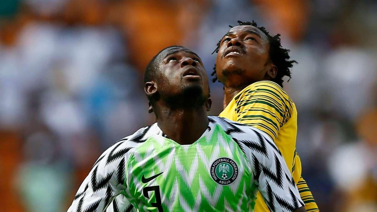 Jamilu Collins, Percy Tau - South Africa vs. Nigeria