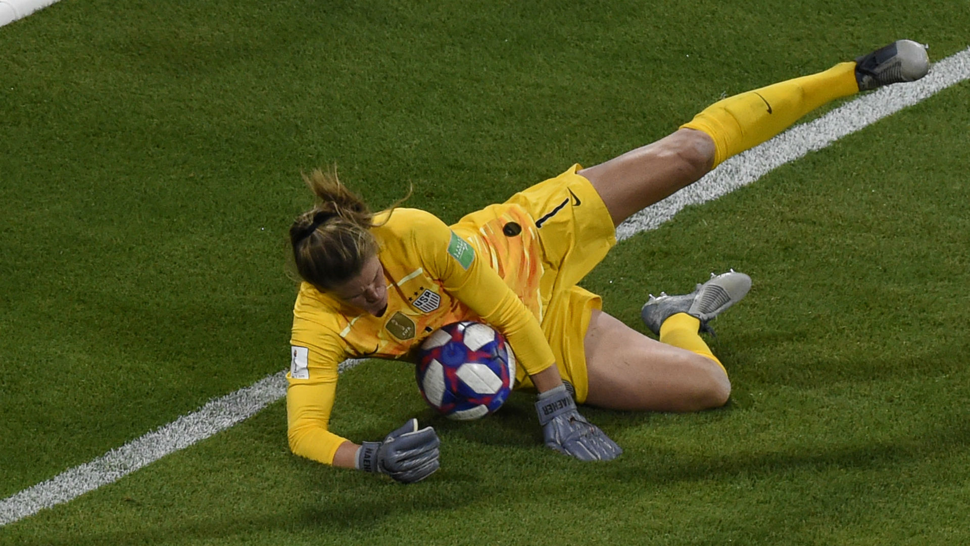 Alyssa Naeher USWNT USA England Women's World Cup 2019