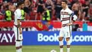 Bruno Fernandes Cristiano Ronaldo Portugal Euro 2020