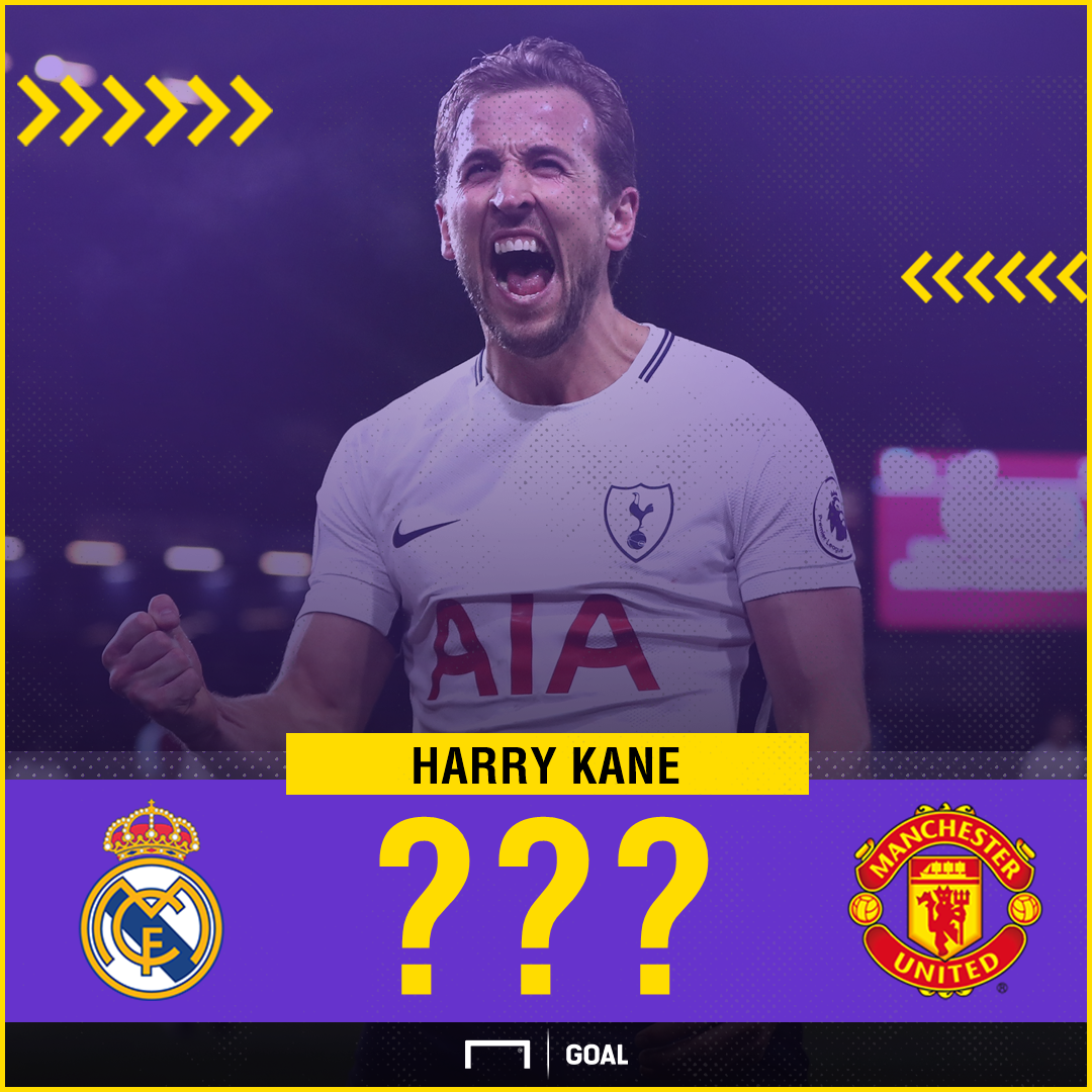 Harry Kane Manchester United Real Madrid