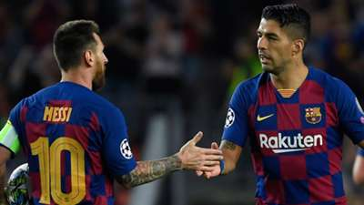 Luis Suarez Lionel Messi Barcelona Inter