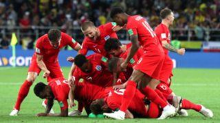 England national football team celebrate