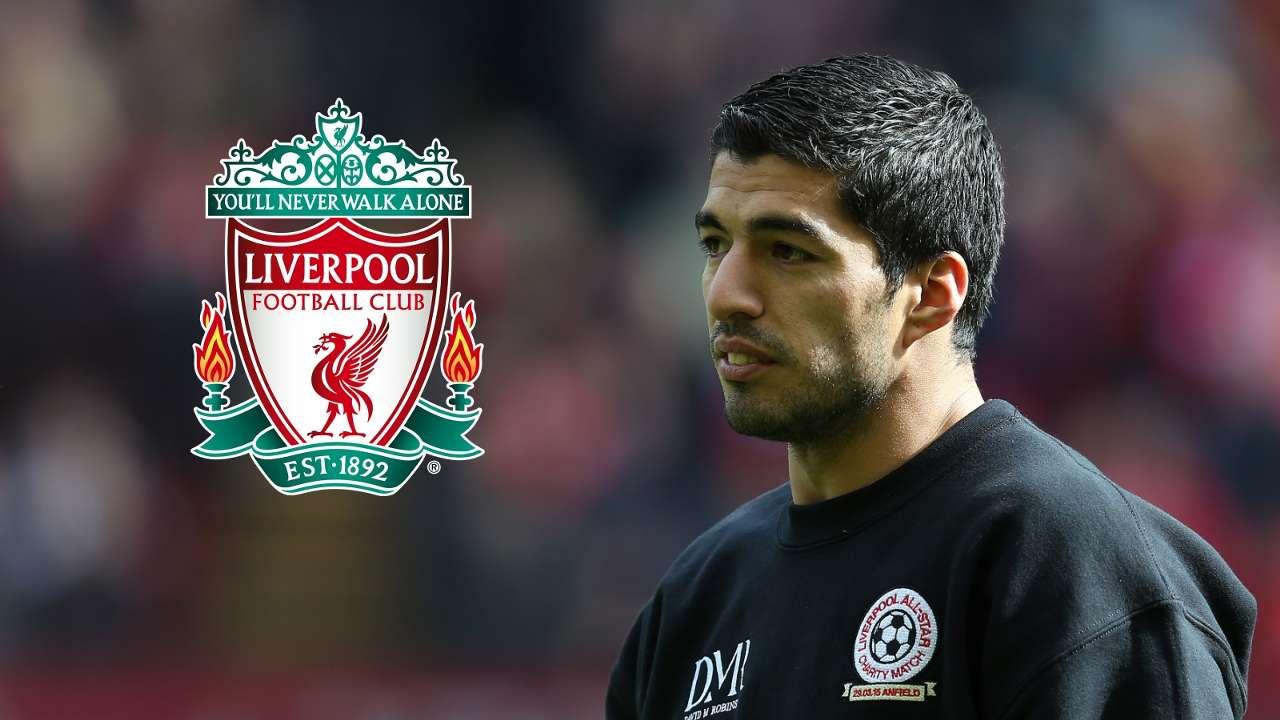 Luis Suarez, Liverpool badge