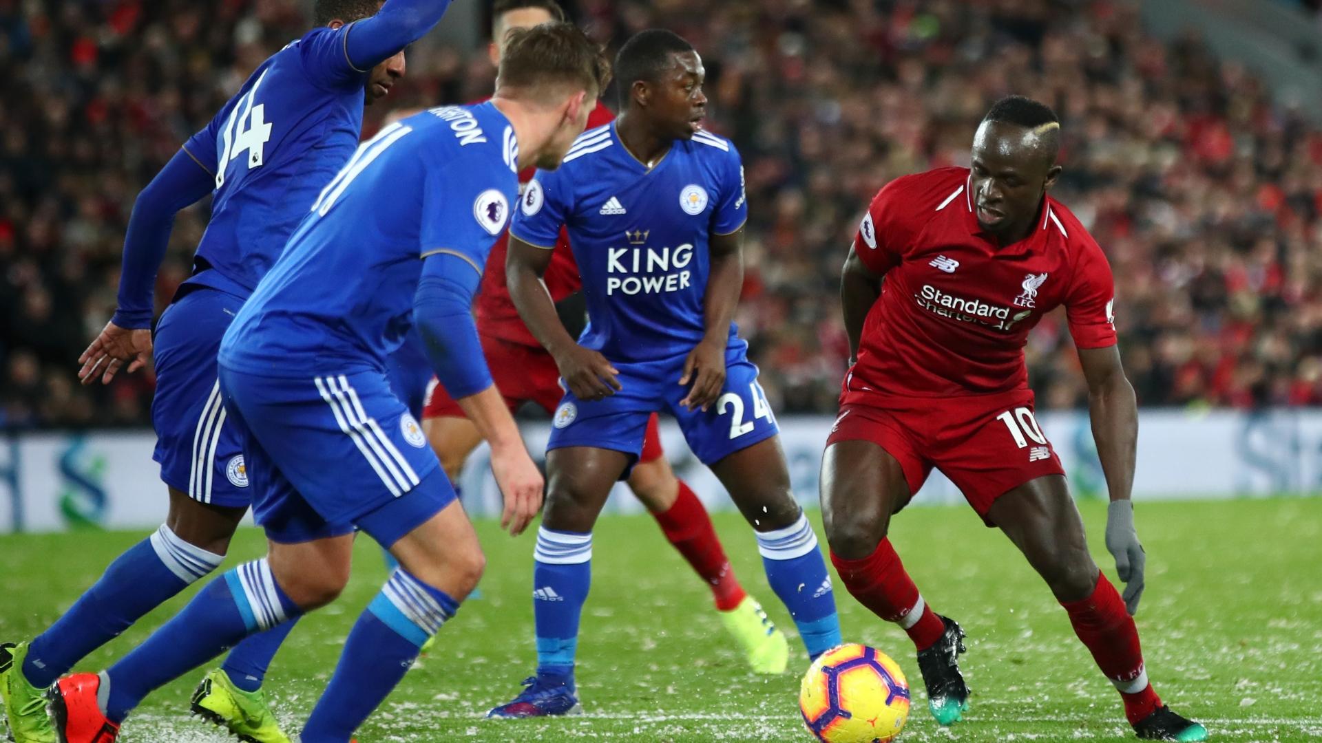 Sadio Mane vs Leicester