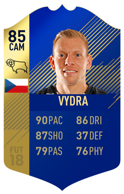 FIFA 18 EFL Team of the Season Vydra