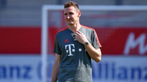 ONLY GERMANY Miroslav Klose Bayern U17