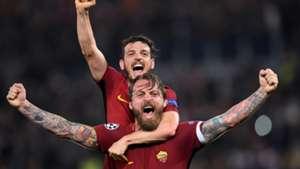 Florenzi De Rossi Roma Barcellona Champions League
