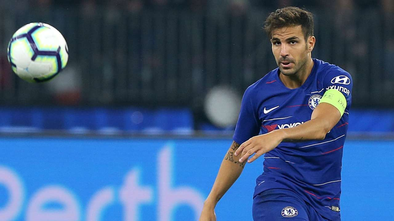 Cesc Fabregas Chelsea ICC 2018