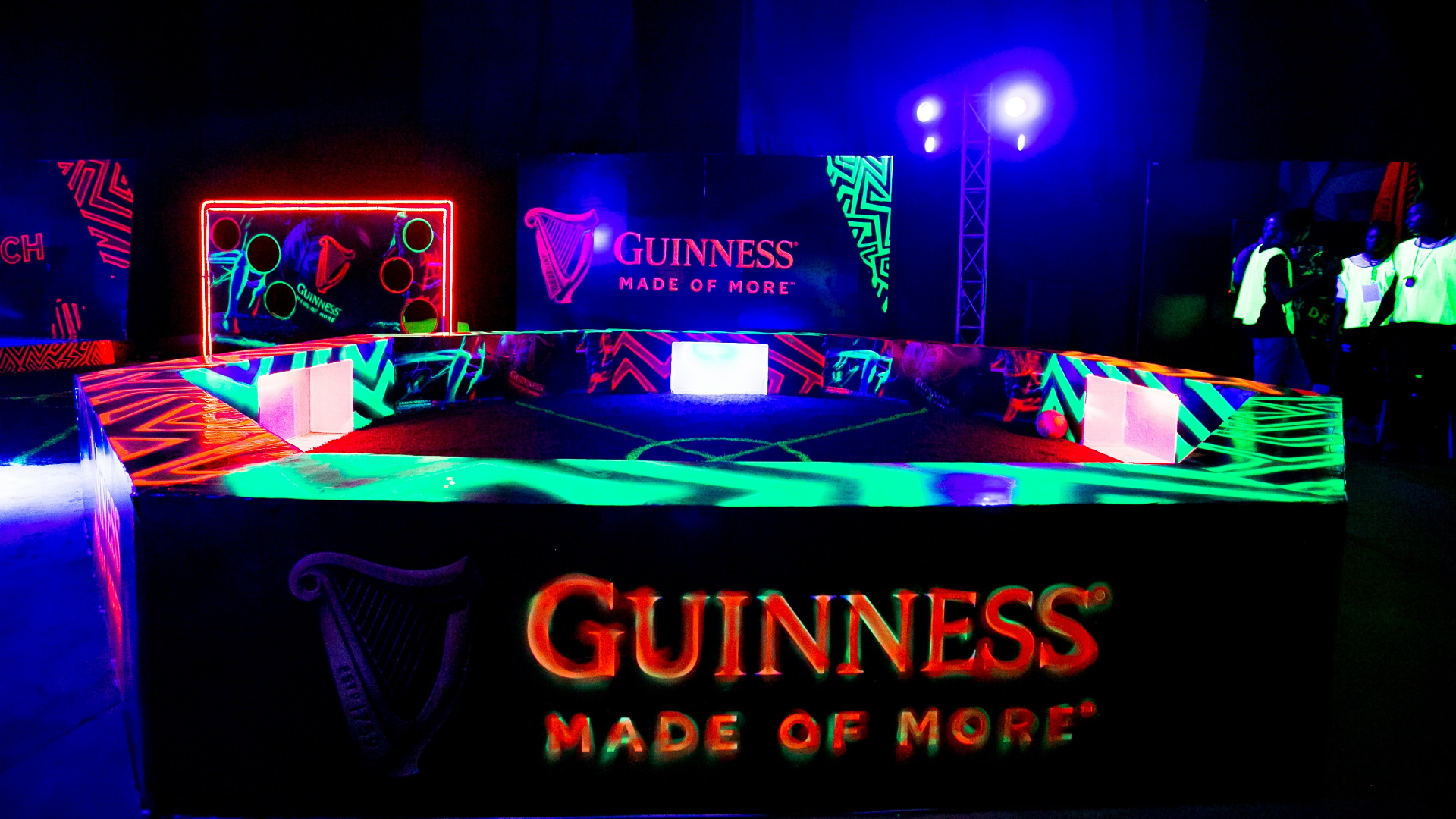 Guinness Night Football lights up Lagos