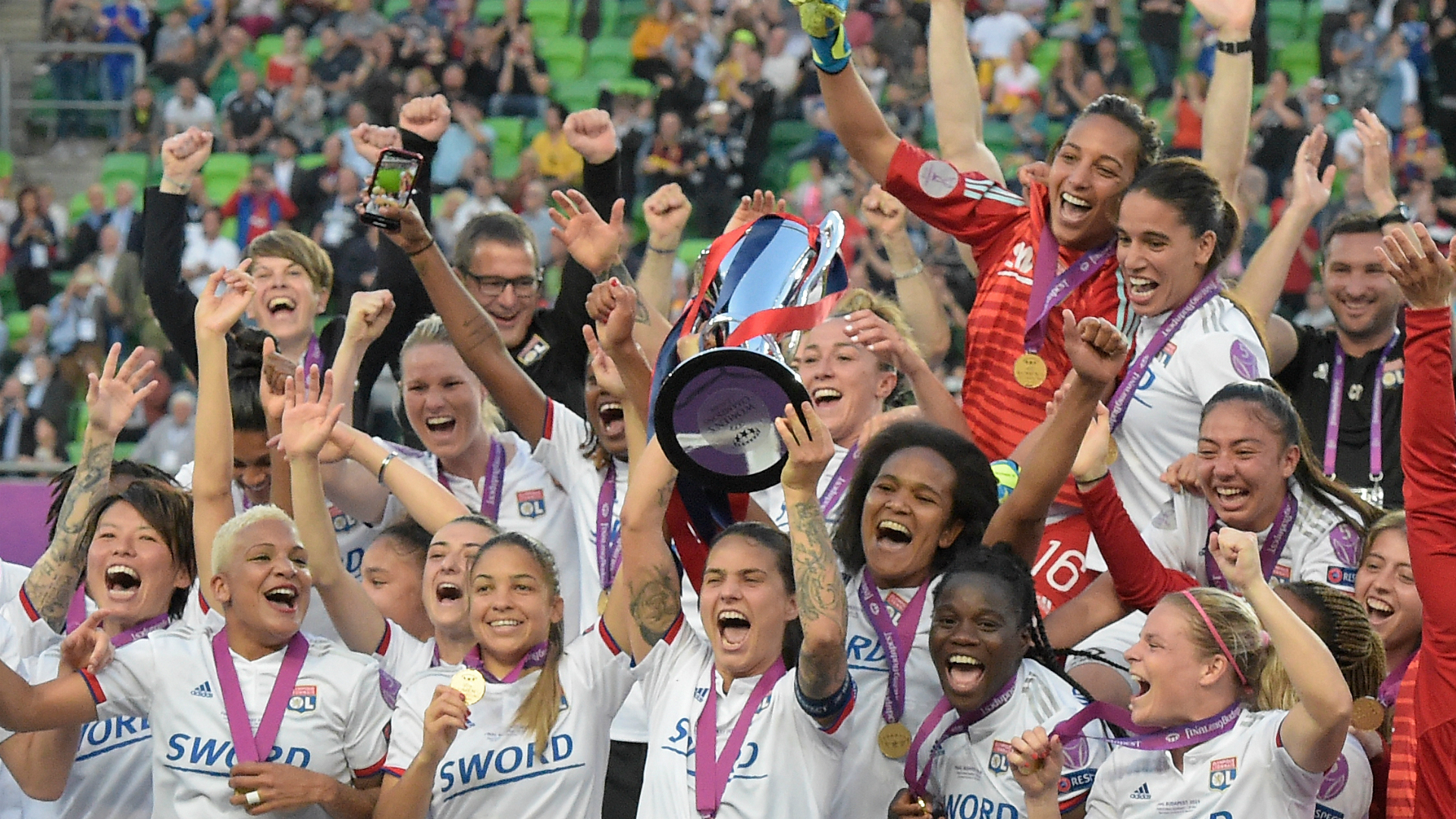 Lyon wins fifth straight women's Champions League title