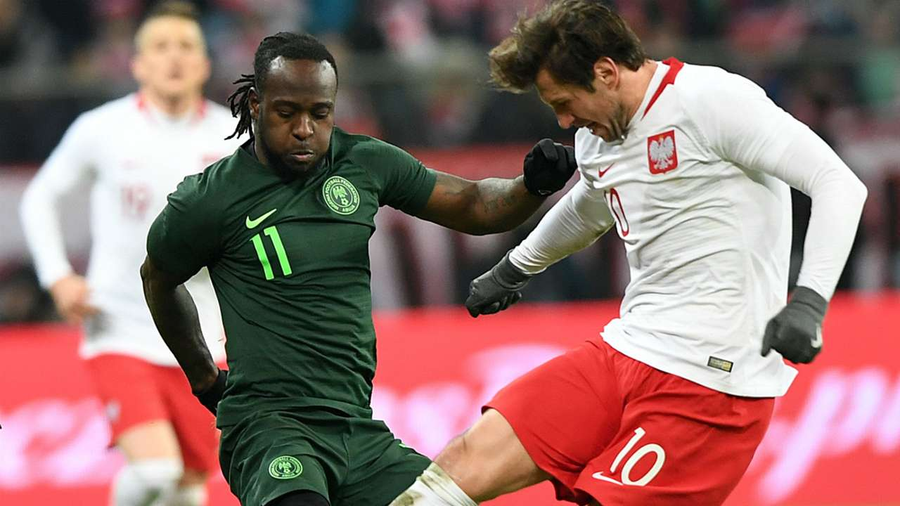 Grzegorz Krychowiak and Victor Moses