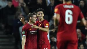 James Milner Curtis Jones Liverpool 2019-20