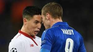 HD Samir Nasri Jamie Vardy Sevilla Leicester City