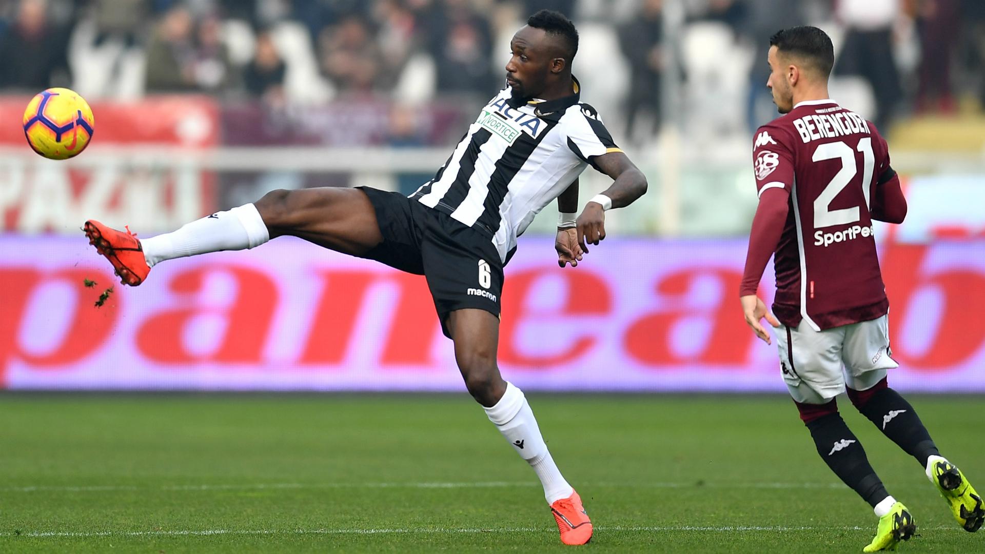 Seko Fofana grabs assist as Troost-Ekong-less Udinese beat SPAL