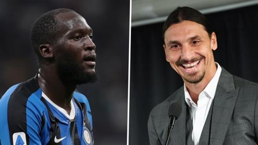 """Ibrahimovic verrät Wettangebot an Lukaku: """"Jedes Mal, wenn du den Ball vernünftig annimmst, gebe ich dir 50 Pfund"""""""