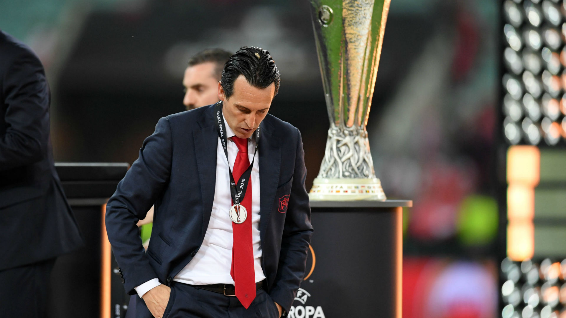 Unai Emery Arsenal Chelsea Europa League 2019