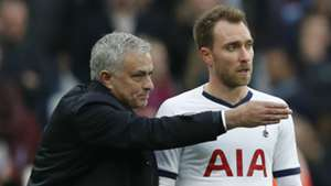 Tottenham boss Mourinho tight-lipped over Eriksen's future at the club