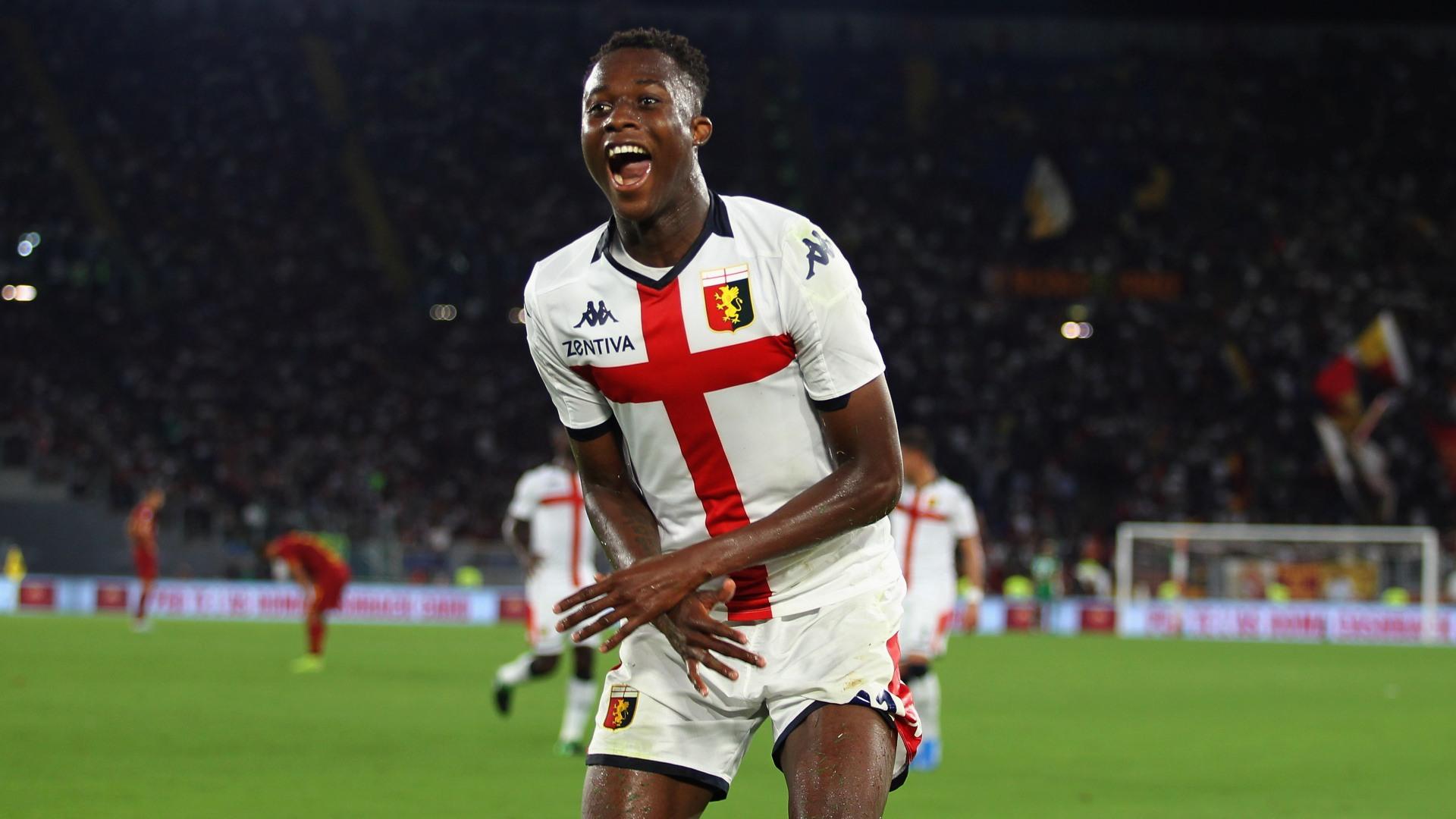Kouame 'honoured' to play with Fiorentina's Ribery
