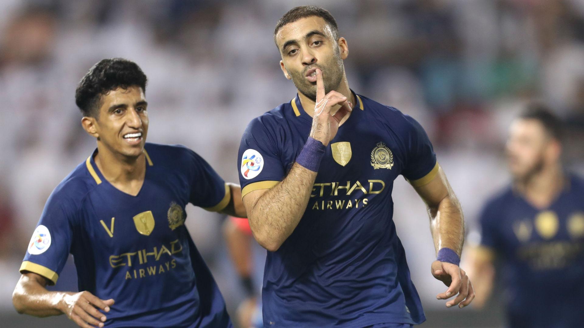 Hamdallah's hat-trick powers Musa's Al Nassr past Al Taawoun