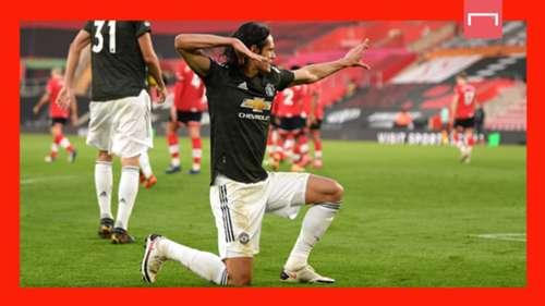 Edinson Cavani Manchester United GFX